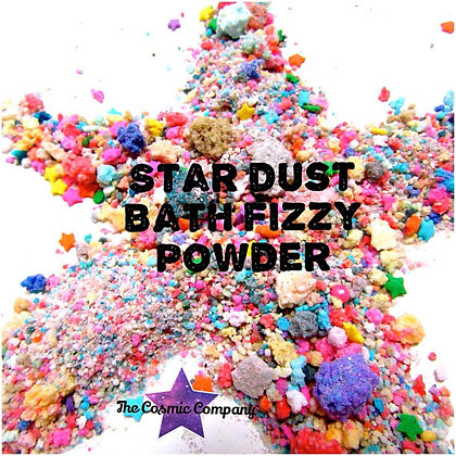 Star Dust, Bath Bomb, Bath Fizzy, Cosmic dust,
