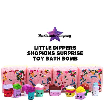 Shopkins surprise bath bomb