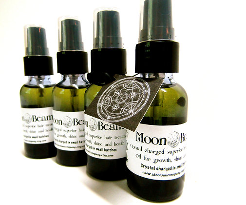 Moon Beam Crystal Charged Bath and Body Oil
