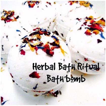 Herbal Bath Ritual Bath bomb