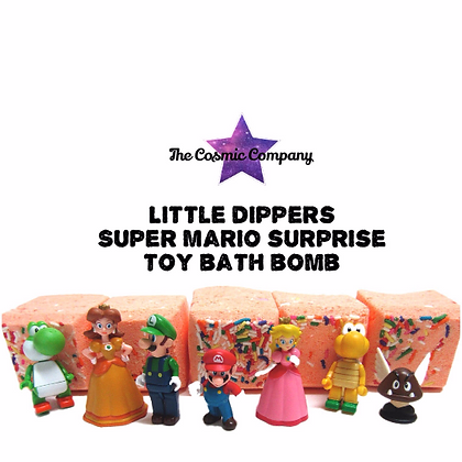 Super Mario Surprise toy Bath bomb