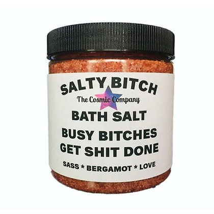 SALTY BITCH BATH SALT-BERGAMOT