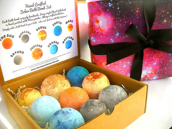 The Solar System Bath Bomb Set