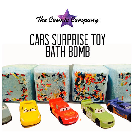 Disney Cars Toy Bath Bomb