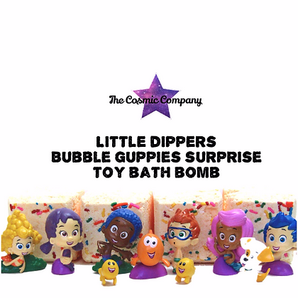 Bubble Guppise Toy Bath Bomb