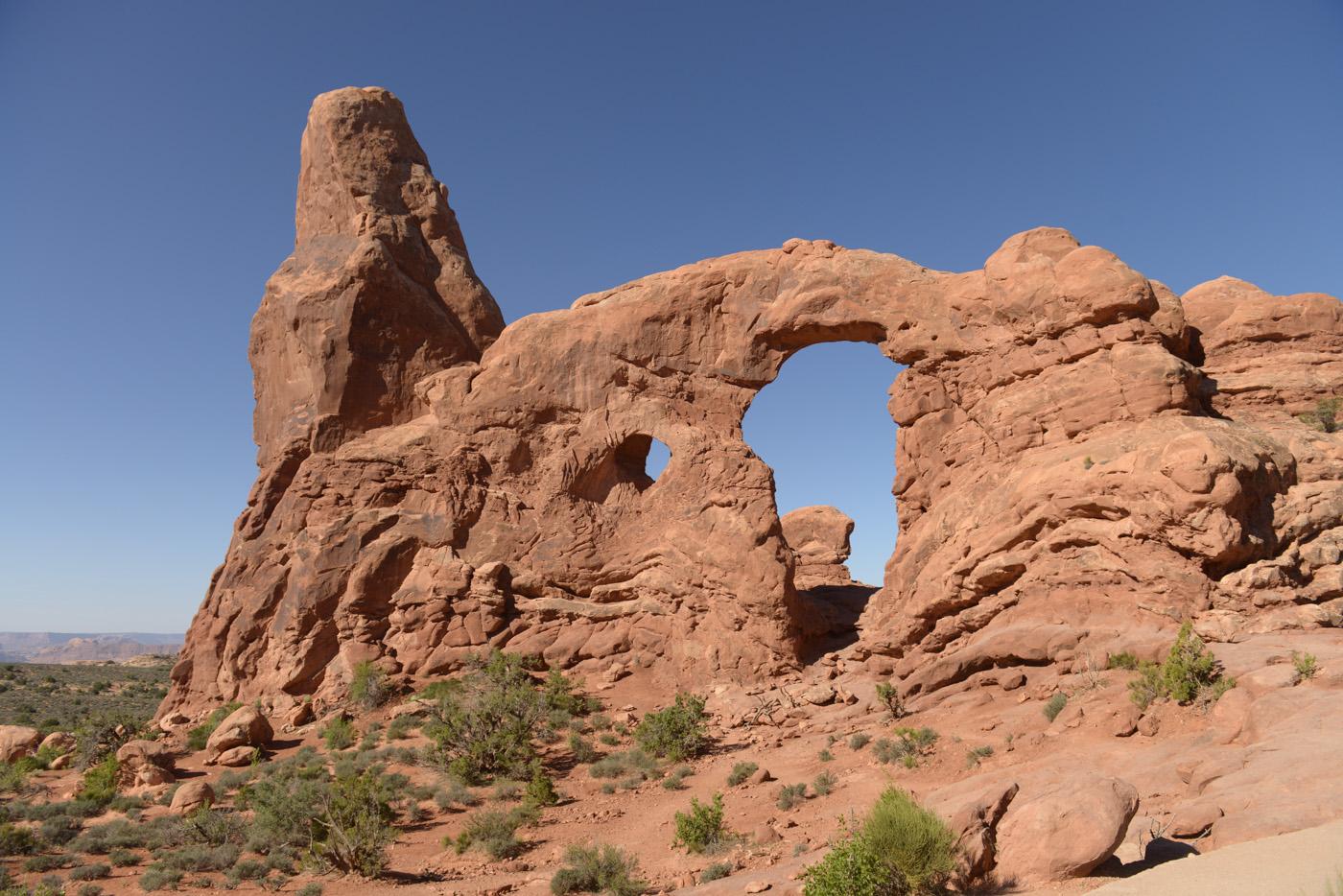 Spectacular desert landscapes