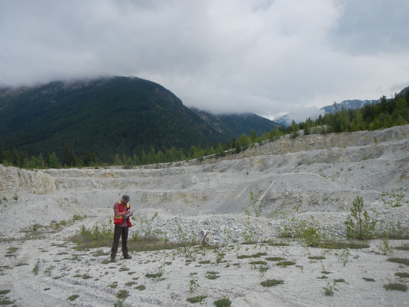 Horse Creek silica mine