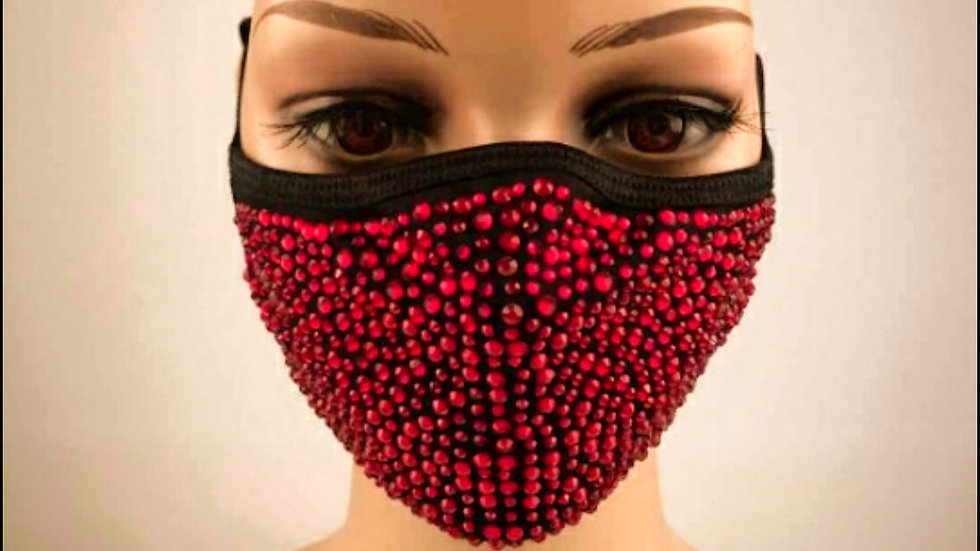 Red Crystal Mask