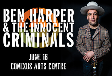 Ben Harper & The Innocent Criminals coming June 2020!