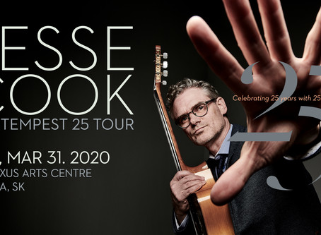 Jesse Cook brings The Tempest 25 Tour to Regina