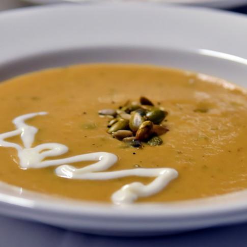 Roasted Pumpkin Soup