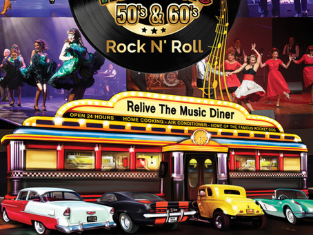 Relive the Music: 50's & 60's Rock n Roll Show coming this October!