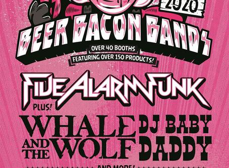 Beer Bacon Bands returning Saturday, January 25!