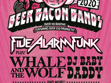 Beer Bacon Bands returning Saturday, January 25!