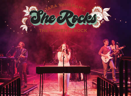 SHE ROCKS, celebrating female artists, coming this March!