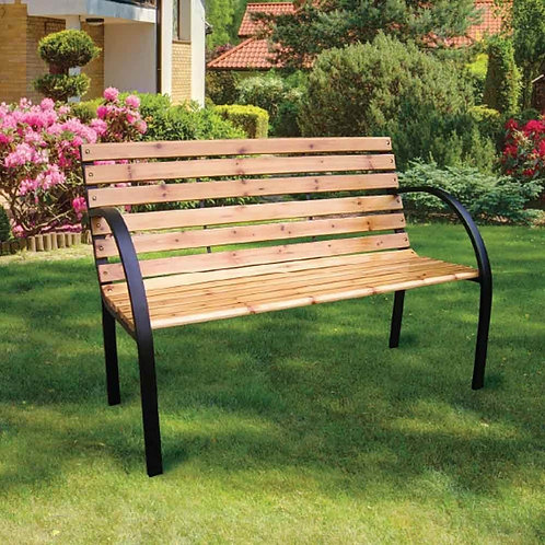 """Bench with """"Your Name"""" Plaque"""