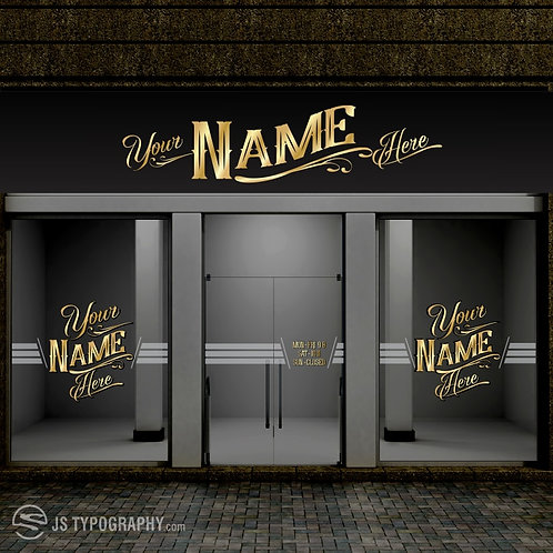 """""""Your Name"""" On Our Front Door"""