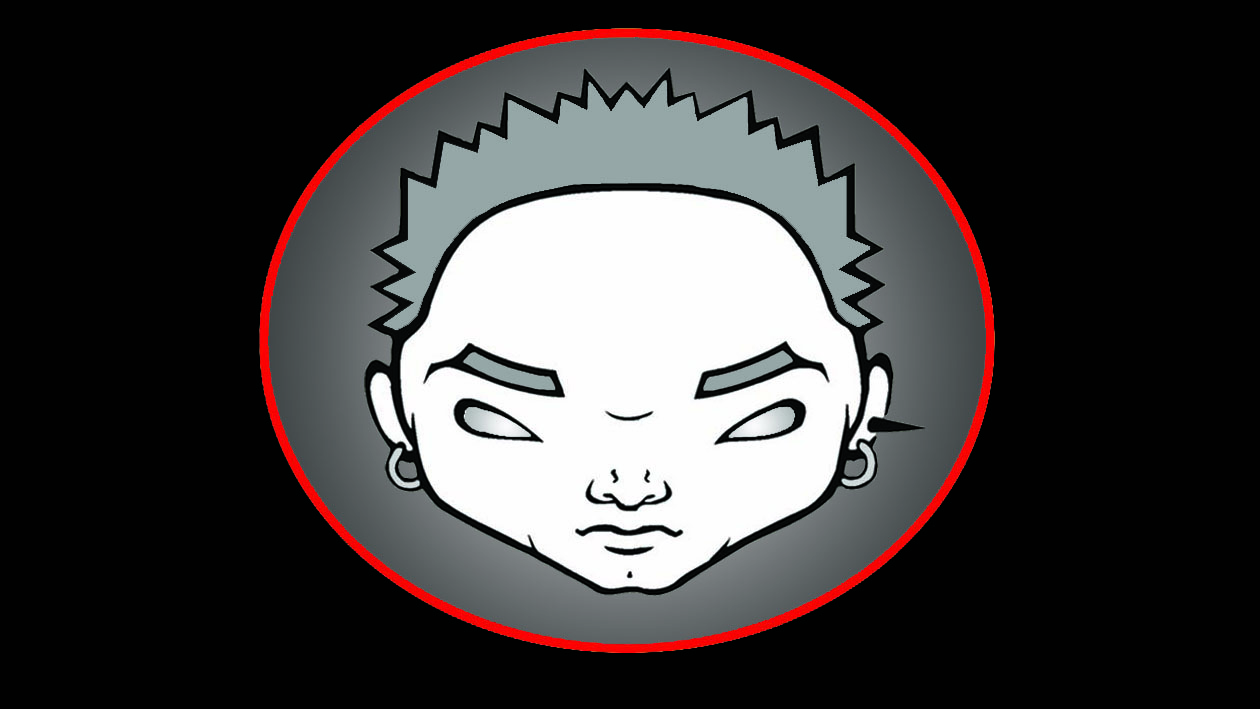 b head