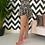 Thumbnail: Arri Rose Ruffle Skirt in Zebra