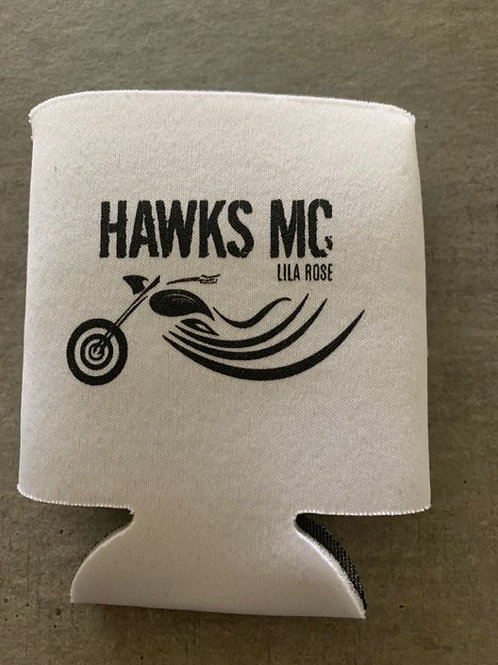 Hawks MC can holder. See Description for Shipping Details.