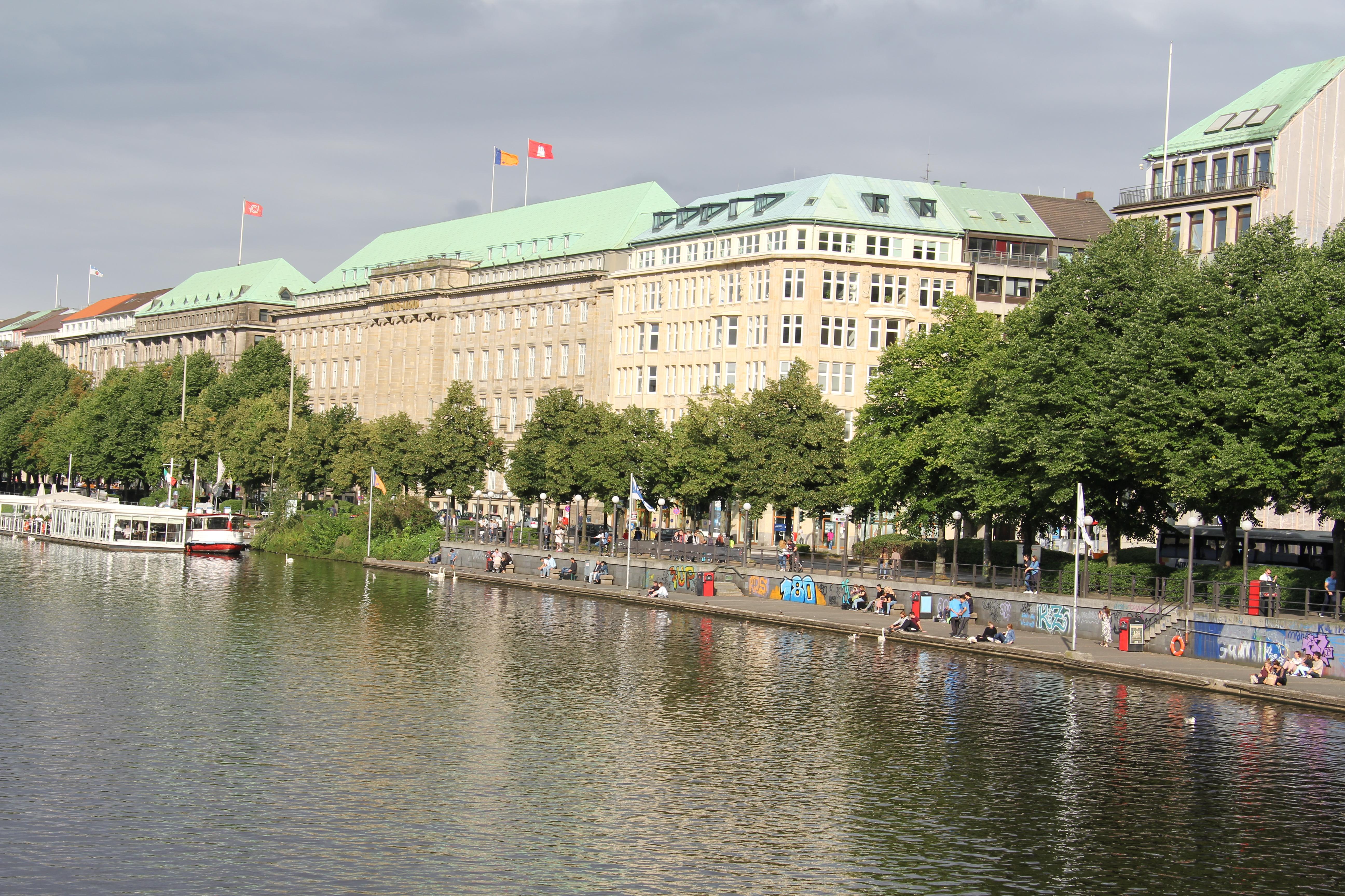 Binnenalster von Hamburg