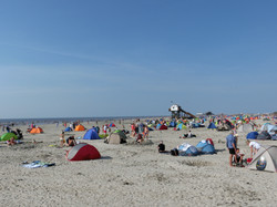 traumhafter Strand in Ording