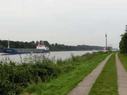 Ausflug zum Nord-Ostsee-Kanal