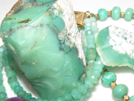 Featured Gemstone: CHRYSOPRASE