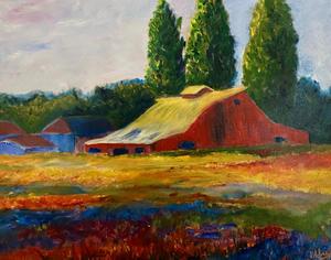 Napa Valley Red Barn