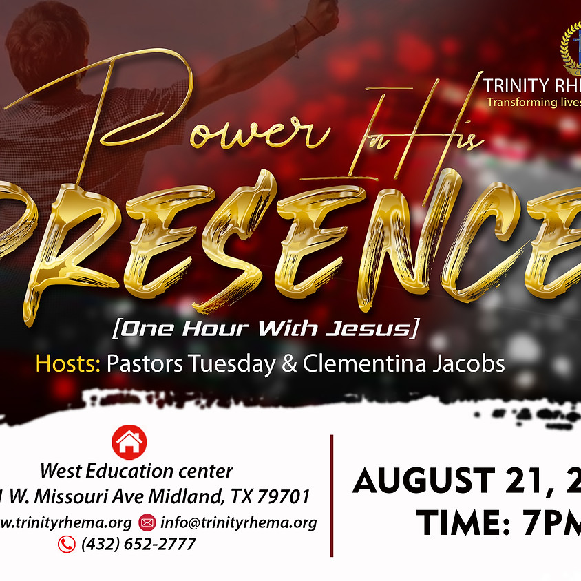 Power In His Presence [One Hour With Jesus]