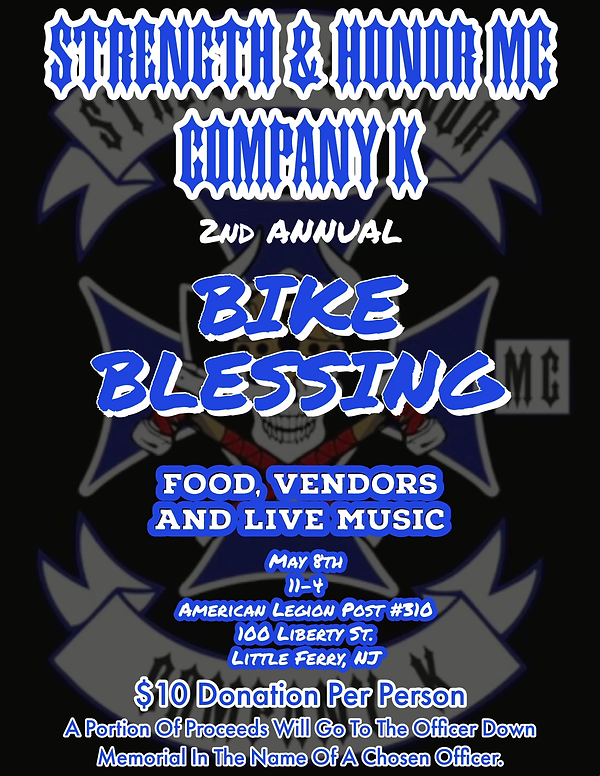Strength & Honor Motorcycle Club Event