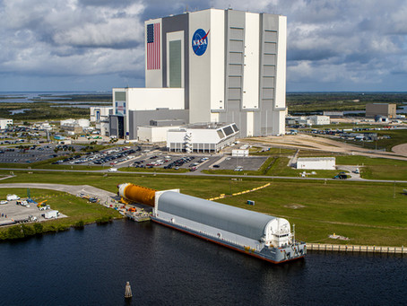 Aerodyne supports the Space Launch System's Core Stage Arrival at Kennedy Space Center!