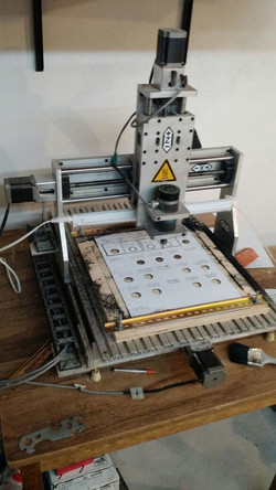 CNC utilizada para grabado