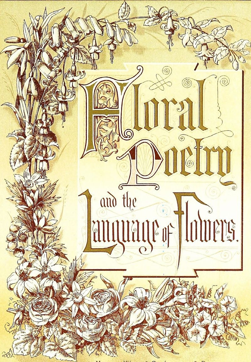Floral Poetry and the Language of Flowers, 1877