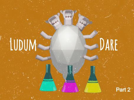 Ludum Dare Part 2 - week 12