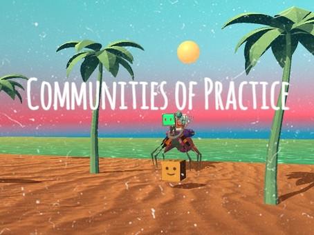 Week 9 - Communities of Practice