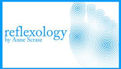 Reflexology by Anne Scrase.