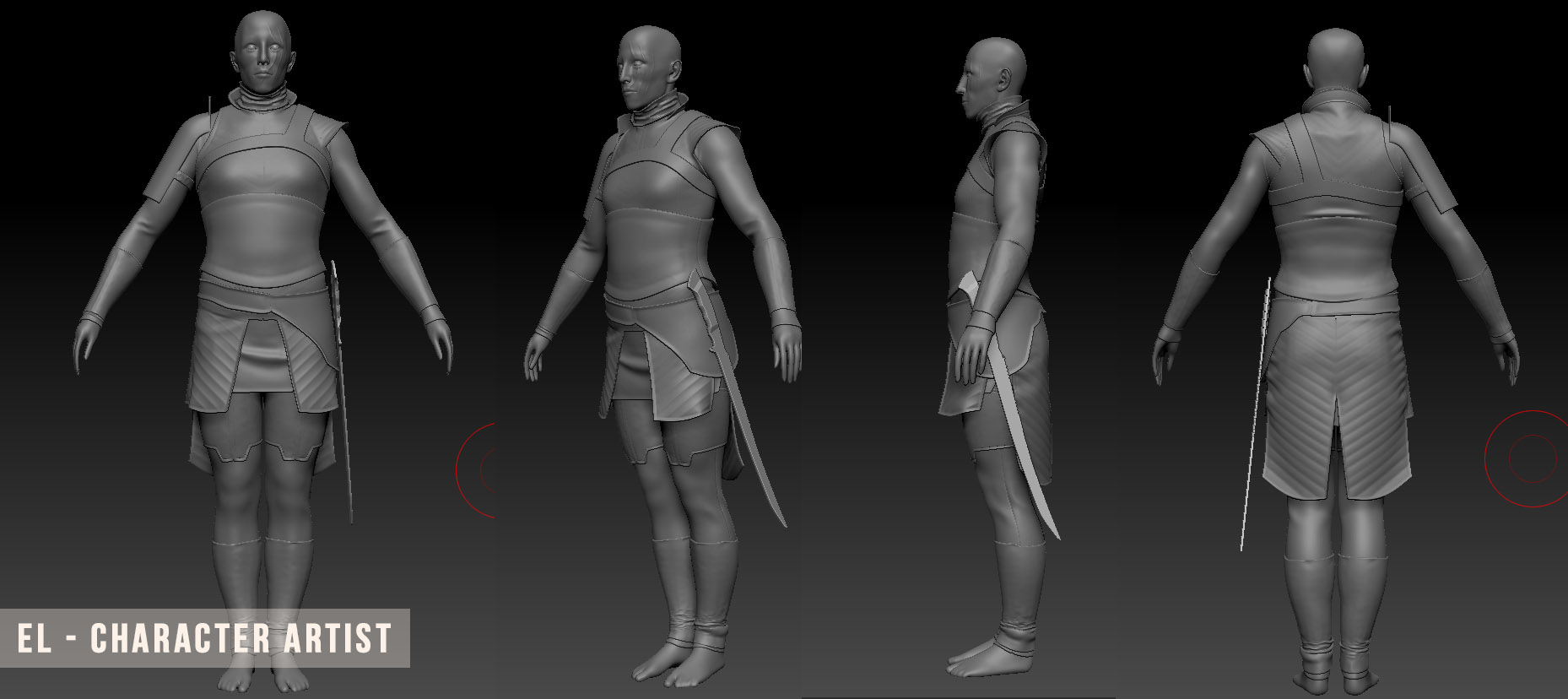 Joanna Jedrzejczyk the Huntress WIP