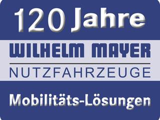 120 Jahre Mobilitäts-Lösungen von Wilhelm Mayer Nutzfahrzeuge