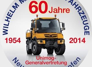 Wilhelm Mayer Nutzfahrzeuge - 60 Jahre Unimog-Generalvertretung