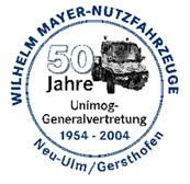 50 Jahre UNIMOG bei Wilhelm Mayer Nutzfahrzeuge