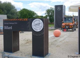 Spitzenergebnisse beim Unimog - Fahrer - Wettbewerb 2016 in Ulm
