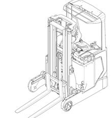 Schubmaststapler MITSUBISHI SENSiA RB14 - 25N2