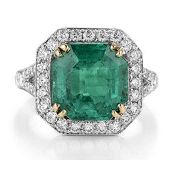 Emerald (Col.) Ring
