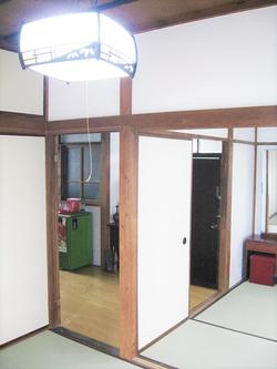 古民家1 4畳半和室、台所