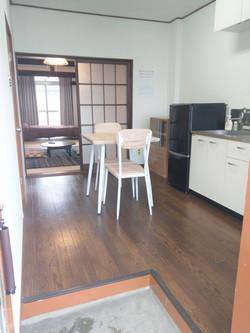 アパート204号室(男性部屋)台所