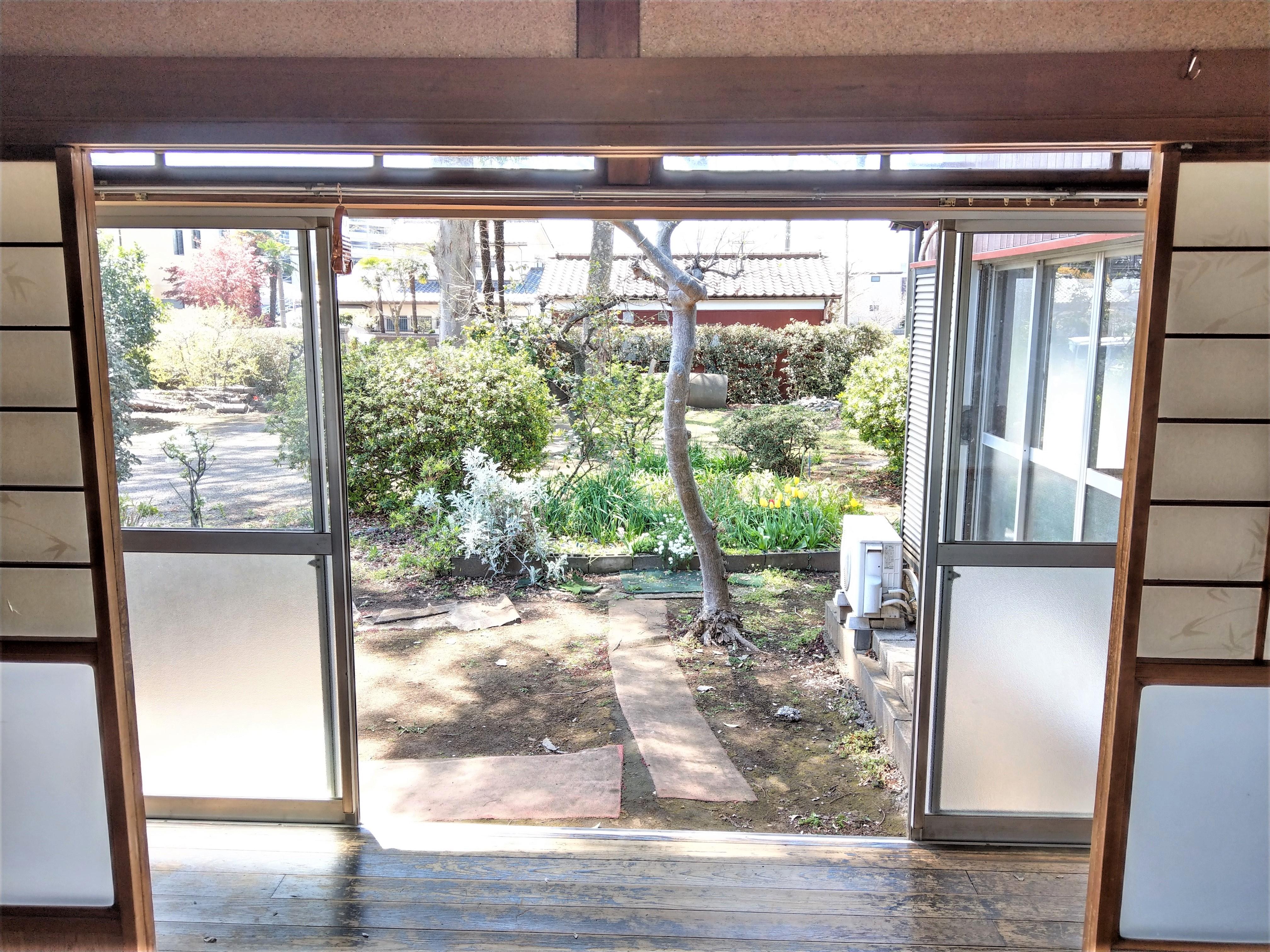 古民家2 縁側、小庭