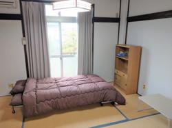 アパート204号室(男性部屋)和室