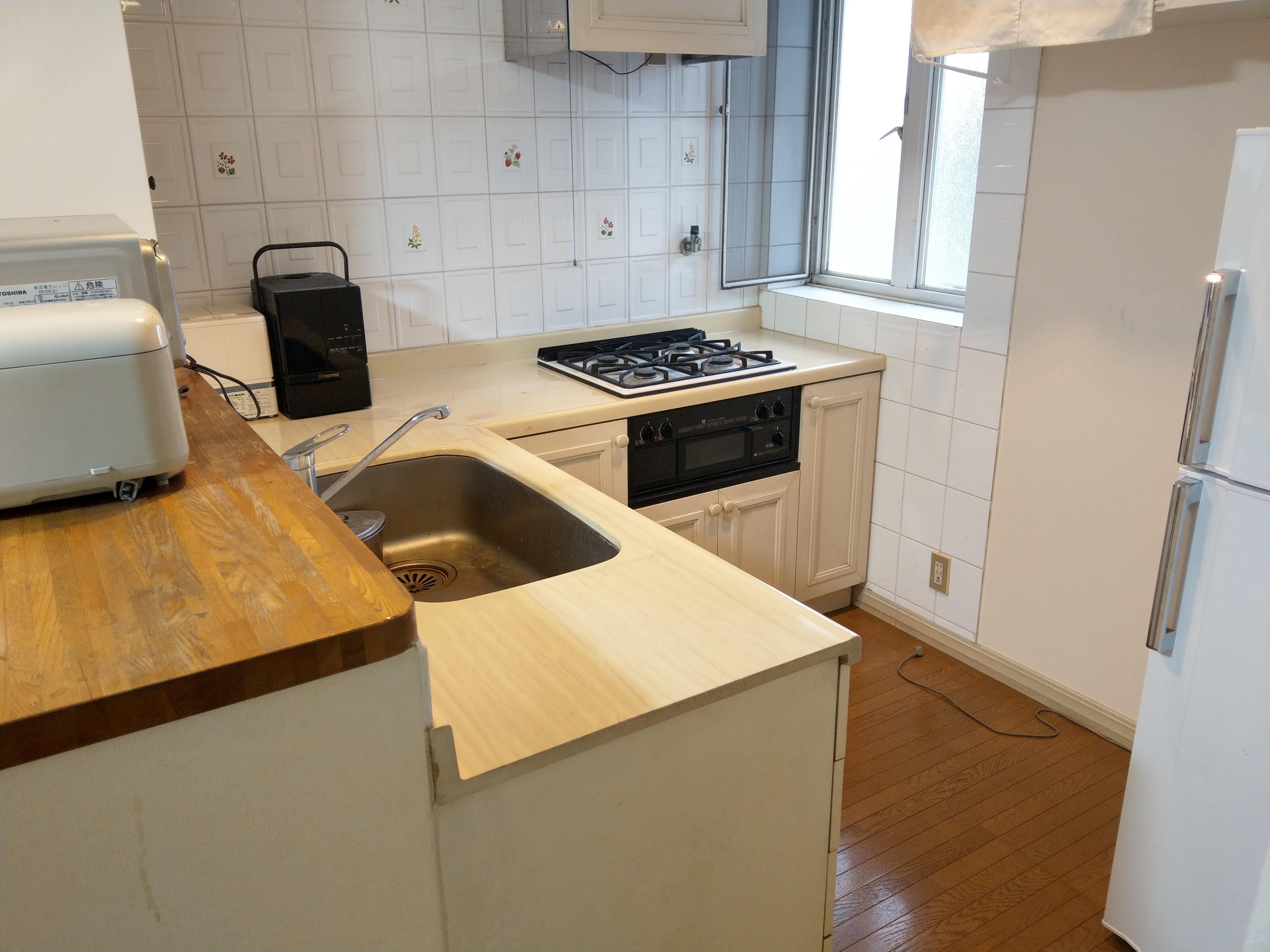 一軒家 2階キッチン