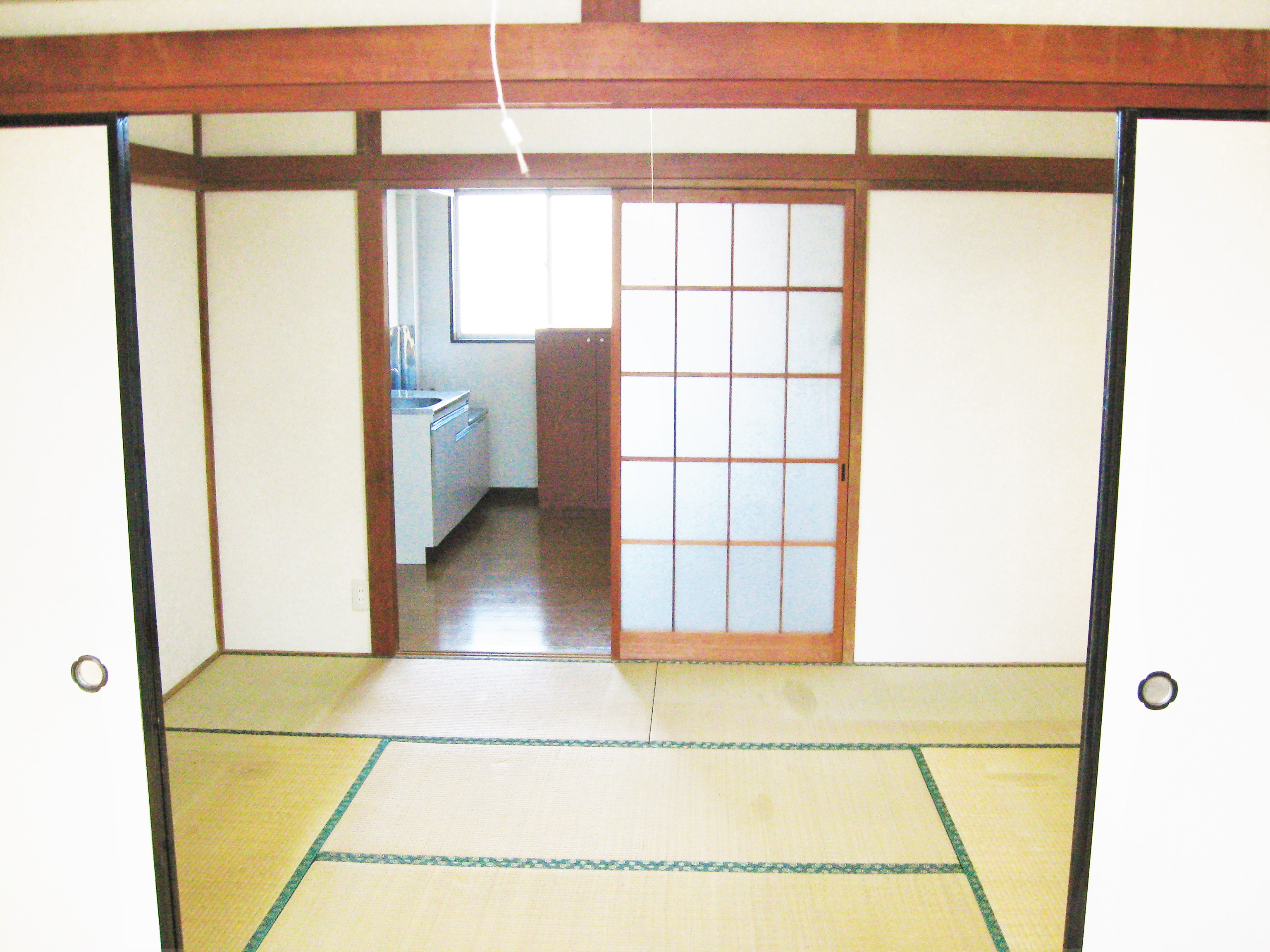 アパート104号室(ほぼ空部屋)和室